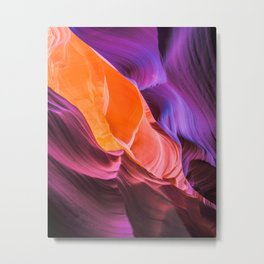 Anelope Canyon Metal Print