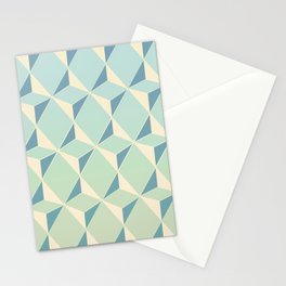 Triangles amd Squares X Stationery Cards