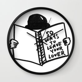 50 Ways To Leave Your Lover Wall Clock