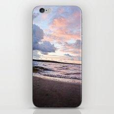 l'aube du hibou iPhone Skin