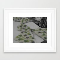 cookies Framed Art Prints featuring Cookies by maybe