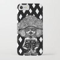 mushroom iPhone & iPod Cases featuring Mushroom by AKIKO