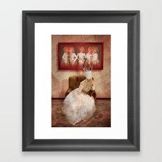 Strange things happen... Framed Art Print