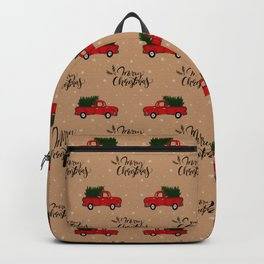 Christmas Truck Backpack