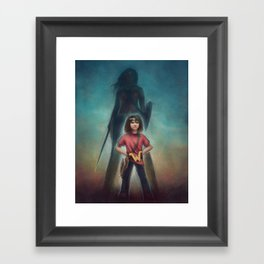 She's Got Your Back Framed Art Print