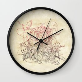 Listen to your soul Wall Clock