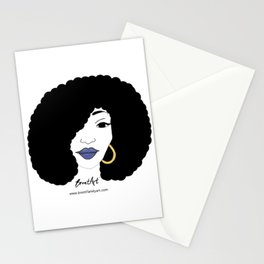 Black Girl Magic Stationery Cards