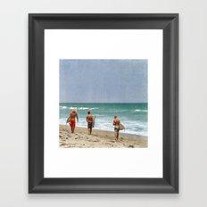 The Boys of Summer Framed Art Print
