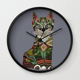pixiebob kitten storm Wall Clock