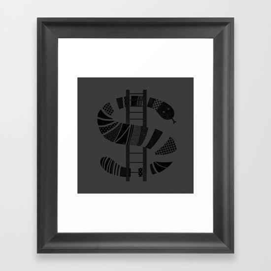 Economy Framed Art Print