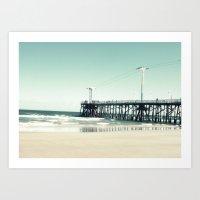 boardwalk empire Art Prints featuring Boardwalk by Sweet Moments Captured