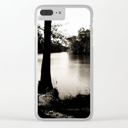 The Lazy Bayou Clear iPhone Case