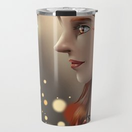 Fire eyes Travel Mug
