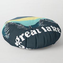 Great Lakes Tree Line Floor Pillow