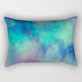 Abstract watercolor grunge pattern Rectangular Pillow
