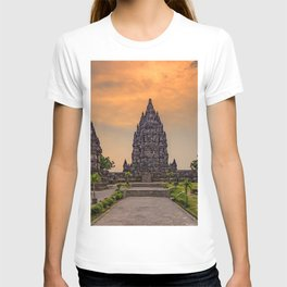 Indonesia Prambanan Temple Jogjakarta temple Cities Temples T-shirt