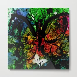 Lost Butterfly by Kathy Morton Stanion Metal Print