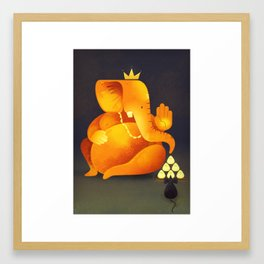 Shree Ganesh Framed Art Print