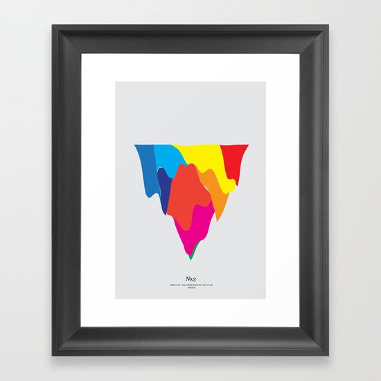 No. 3 Framed Art Print