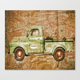 Texaco Service To Others Canvas Print