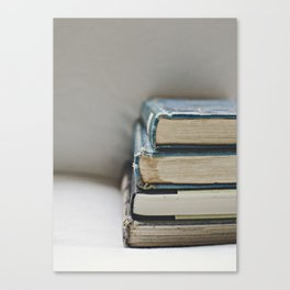 Vintage Books 2 - Book series Canvas Print
