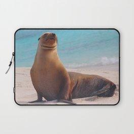 A Seal Sunbathe Laptop Sleeve