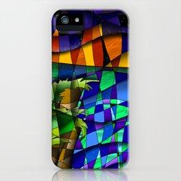 nightfall sea side iPhone Case