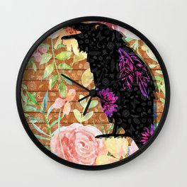 M is for Murder - Judge Wall Clock
