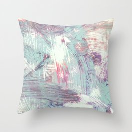 Weathered Rhythms Throw Pillow