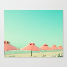 Cover Under Pink Canvas Print
