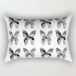 Abstract Butterflies II Rectangular Pillow