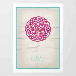 Love poster Art Print