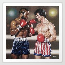 Rocky Balboa Art Print
