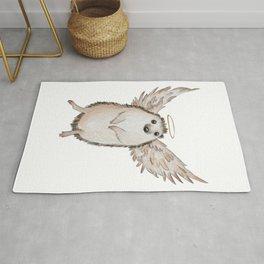 Angel hedgehog Rug