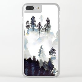 Zen Forest Clear iPhone Case
