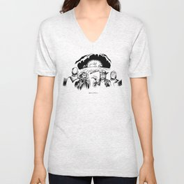 Monty Python: Killer Rabbit Unisex V-Neck