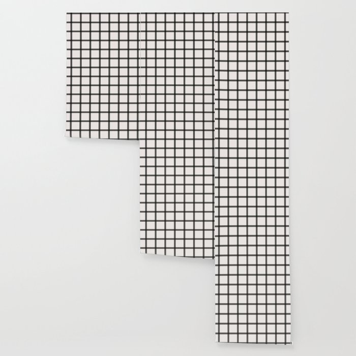 black and white plaid wallpaper by noaccountingfortaste society6