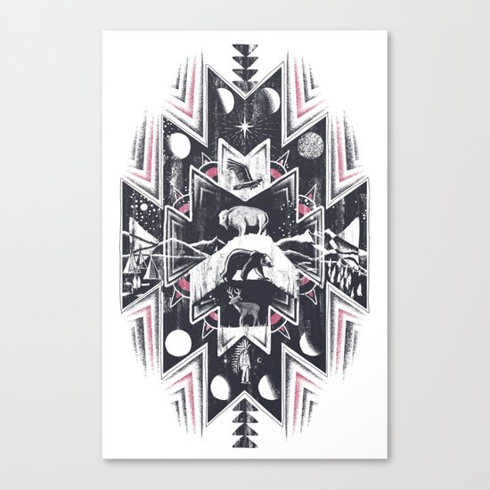 Phases (Light) Canvas Print