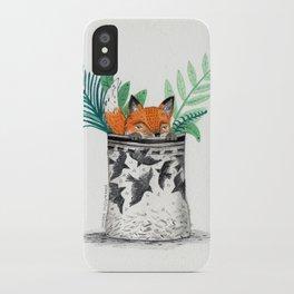 Fox Pot iPhone Case