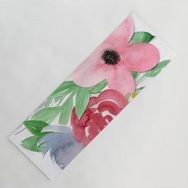 Floral Watercolor Bouquet no. 2 Yoga Mat