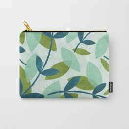 Simple Leaves Carry-All Pouch
