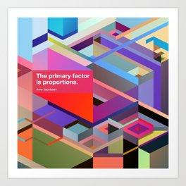 Proportions Art Print
