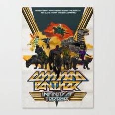 Command Panther Canvas Print