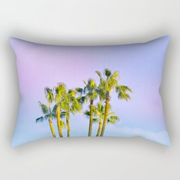 Summer Dreams with Palms Rectangular Pillow
