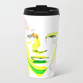 frank o'hara Metal Travel Mug