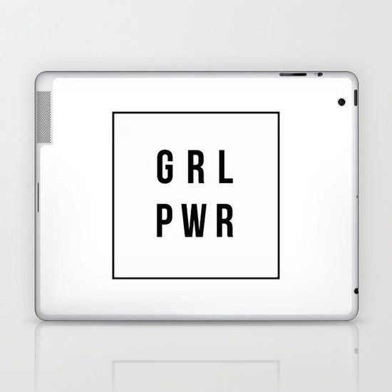 GRLPWR Girl Power Laptop & iPad Skin