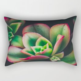 The Succulent Garden 3 Rectangular Pillow