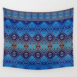 The Lodge (Blue) Wall Tapestry