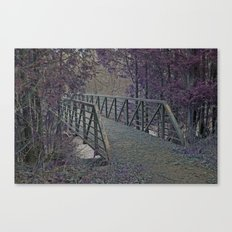 Just a Bridge Canvas Print