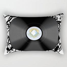 Vinyl Music Rectangular Pillow
